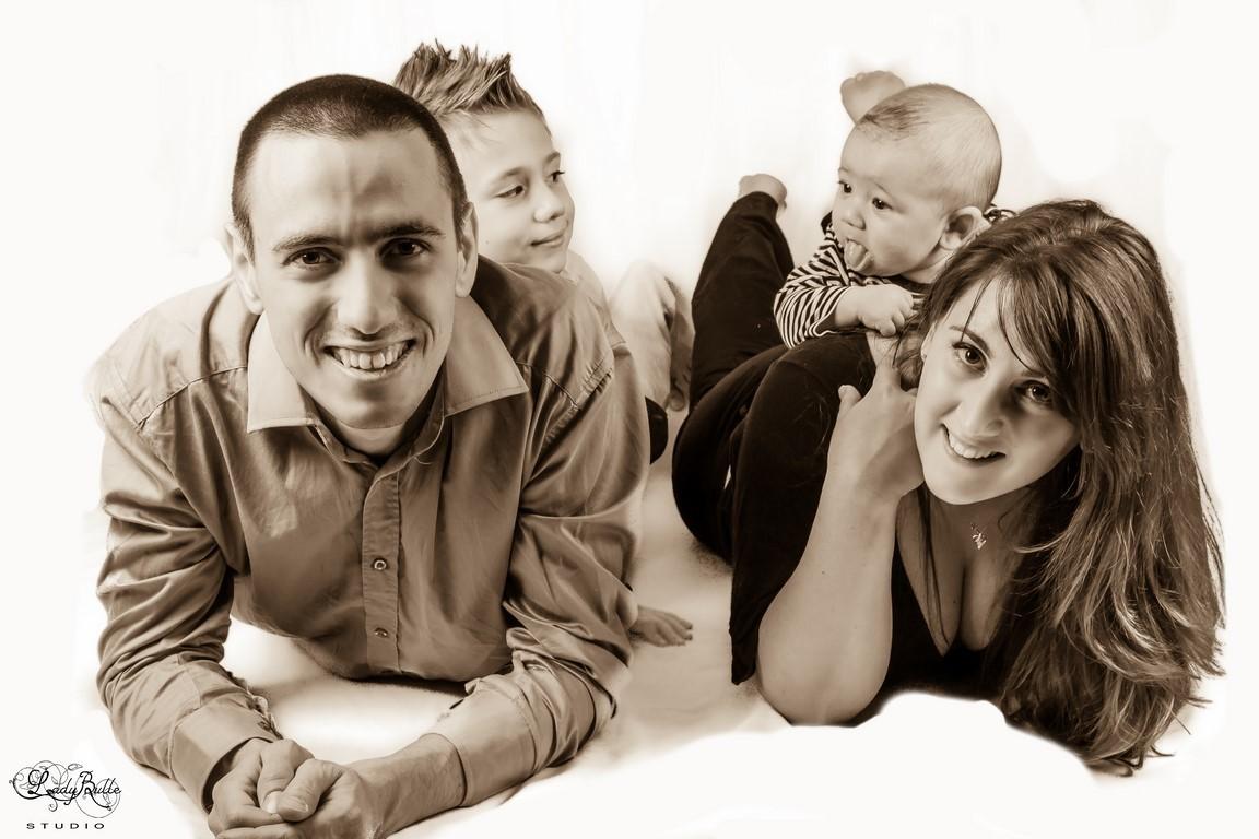 Portrait de famille - Studio