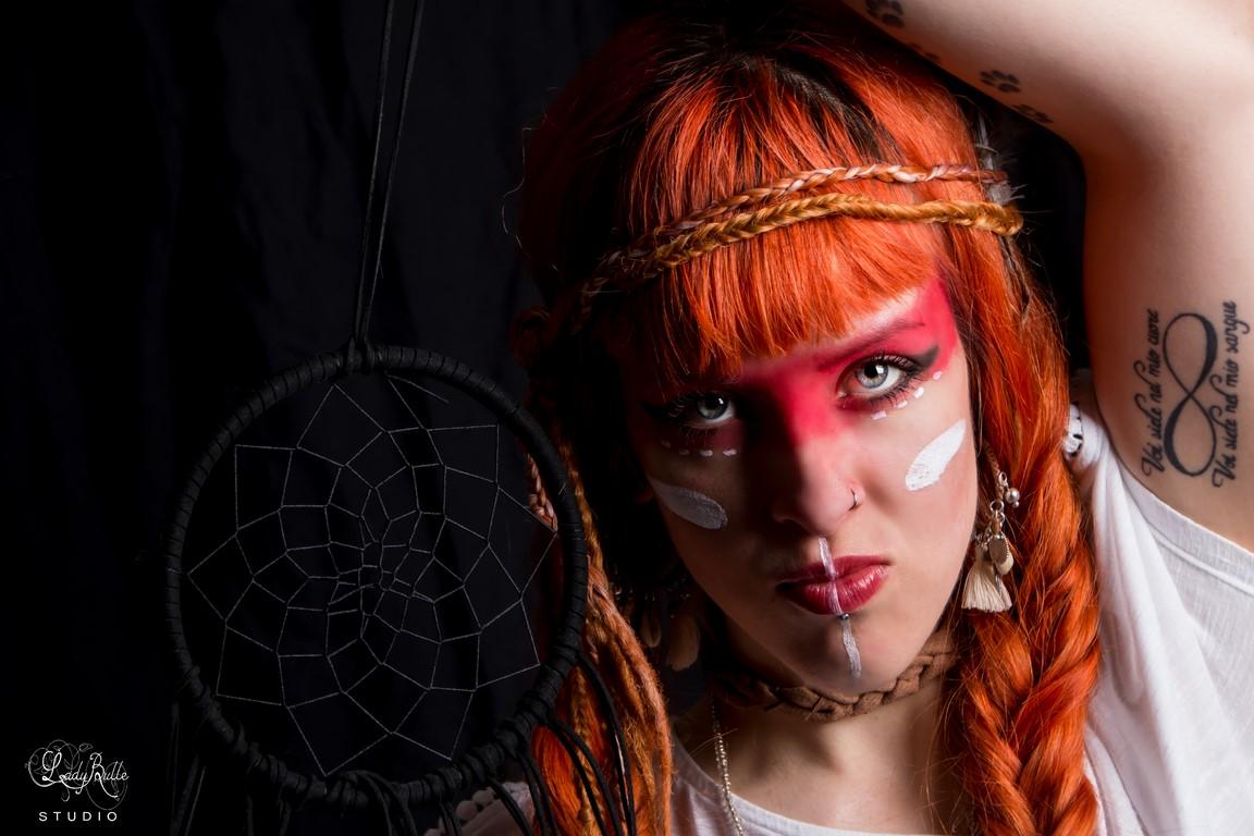 Portrait - Mise en scène - Squaw - Studio
